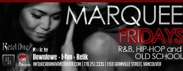 ★ Marquee Fridays' ★ EVERY FRIDAY