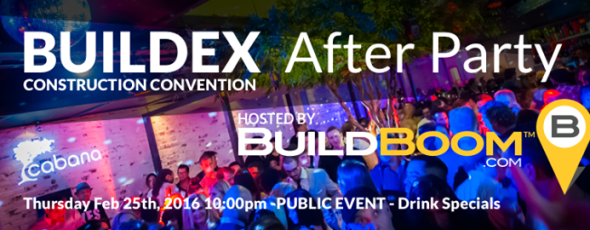 BUILDEX After PArty