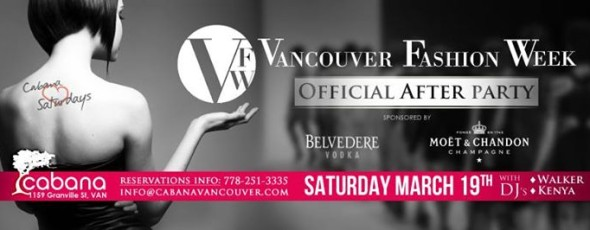 Vancouver Fashion Week Official After Party