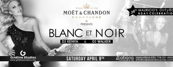 Moet Presents Blanc et Noir