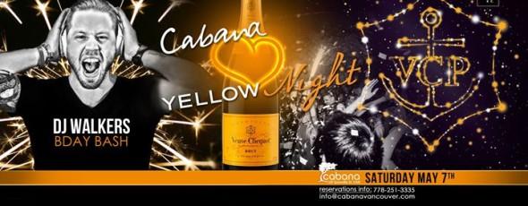 Veuve Clicquot Yellow Night: DJ Walker's Bday Bash!