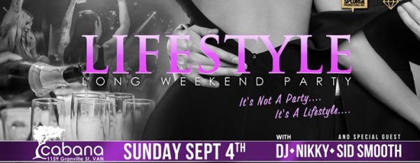 Lifestyle Long Weekend Party