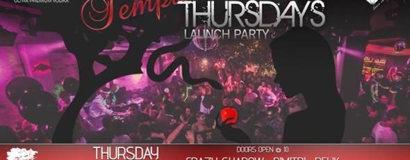 Tempatation Thursday Launch Party