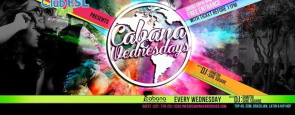 Cabana Wednesdays