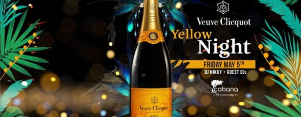 Veuve Yellow Week Party
