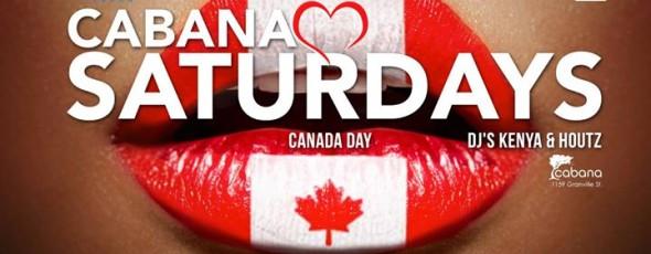 Cabana LOVES Canada DAY!