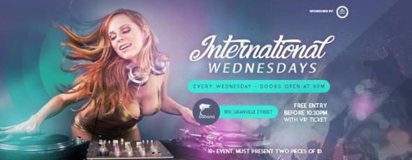 International Wednesdays!