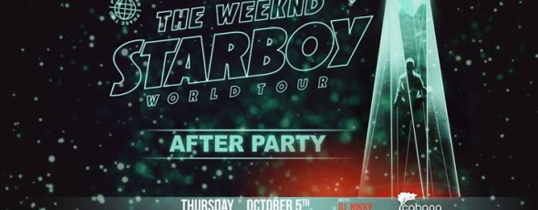 Starboy World Tour After Party